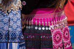 传统小山部落银装饰品 免版税图库摄影