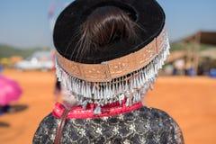 传统小山部落银装饰品 库存图片