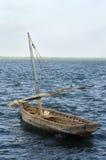 传统小船风帆 免版税库存照片