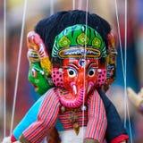 传统尼泊尔木偶 免版税图库摄影