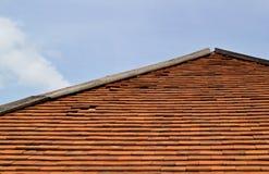 传统屋顶 库存照片