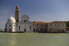 传统巨大的大厦在威尼斯,意大利 免版税库存照片