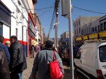 传统市场在瓦尔帕莱索,智利 免版税库存图片