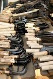 传统市场在韩国 库存图片