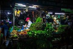 传统市场, 23-10-2016 Ngo对街道,胡志明,越南的Tat 免版税图库摄影