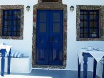传统希腊房子 免版税库存图片