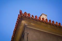 传统希腊的房子 免版税库存图片