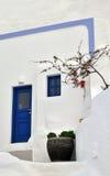 传统希腊的房子 库存图片