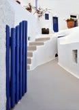 传统希腊的房子 免版税图库摄影