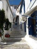 传统希腊街道 库存图片