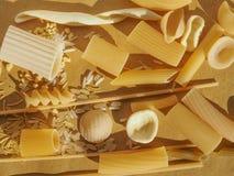 传统意大利的意大利面食 免版税图库摄影