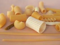 传统意大利的意大利面食 库存照片