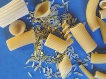 传统意大利的意大利面食 免版税库存照片