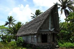 传统房子 免版税图库摄影