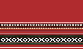 传统手工制造Sadu地毯 库存照片