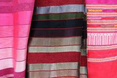 传统摩洛哥纺织品 免版税库存图片