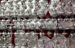 传统摩洛哥水壶 库存照片