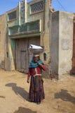传统旁遮普人村民 免版税库存图片
