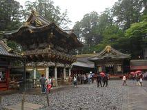 传统日本人寺庙和寺庙 免版税库存照片