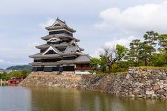 传统日本人马塔莫罗斯城堡 库存照片