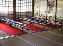 传统日本内部& x28; 京都, Japan& x29; 免版税库存图片