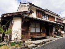传统日本商人房子 库存照片