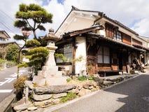 传统日本商人房子 免版税库存图片