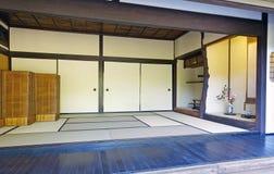 传统日本室 免版税库存图片