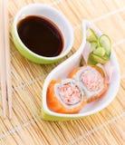 传统日本寿司 图库摄影