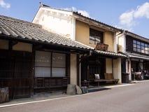 传统日本房子在Uchiko,日本 图库摄影
