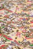 传统日本样式纸 免版税库存图片
