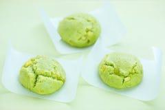 传统日本的甜点 库存图片