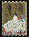 传统日本衣裳 库存图片
