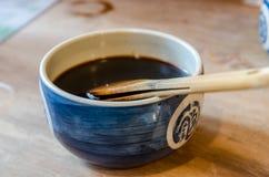 传统日本调味品 免版税库存图片