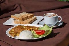 传统早餐 免版税图库摄影