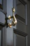 传统-期间-古董-前门敲门人 图库摄影