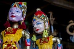 传统木偶,印度尼西亚 免版税图库摄影