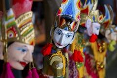 传统木偶,印度尼西亚 库存图片