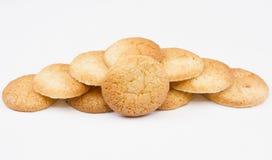 传统法国的蛋白杏仁饼干 库存图片