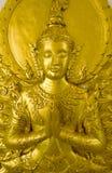 传统泰国样式雕刻 图库摄影