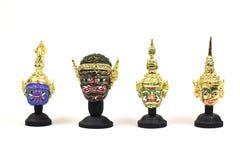 传统泰国actor& x27; s面具 免版税图库摄影