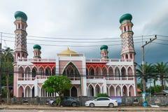 传统清真寺在南泰国 图库摄影