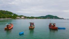 传统渔夫小船 免版税库存图片