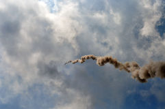 传统火箭 库存图片