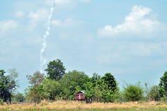 传统火箭 免版税库存照片