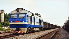传统火车 库存图片