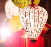 传统灯笼在越南 库存图片