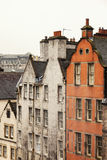 传统爱丁堡建筑学 免版税库存照片