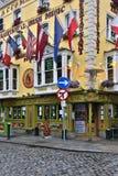 传统爱尔兰客栈-都伯林-爱尔兰 免版税库存照片
