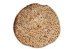 传统犹太未发酵的面包 免版税库存照片
